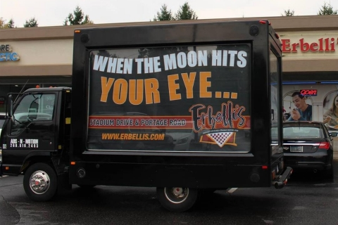 Mobile Billboard Truck Advertising is More Effective than Forms of Digital Advertising